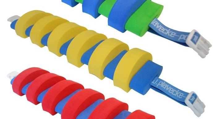 PLAVECKÝ PÁS (13 dílků) - modro-žlutý Aronet