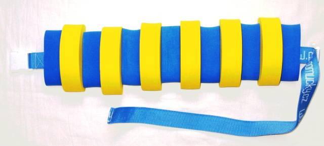 PLAVECKÝ PÁS 11 dílků - modro-žlutý Aronet