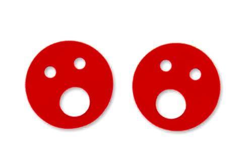 Nadlehčovací kroužky - červené Aronet