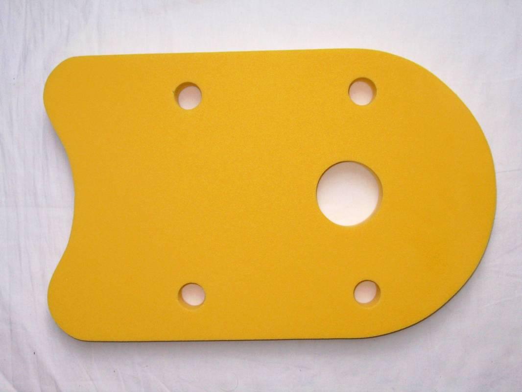 Plovák DENA 48x30 - žlutý