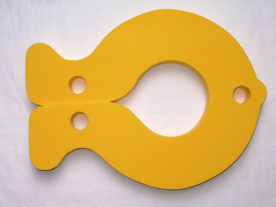 Plovák RYBA - žlutý DENA