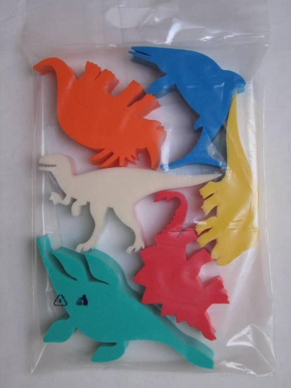 Hračky do vody - dinosaurus (sada 6 ks) DENA