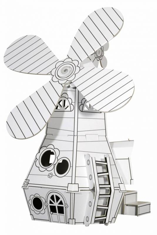 CALAFANT KI.KA Mlýn - papírové modely