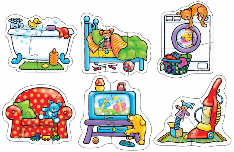 ORCHARD TOYS - puzzle V DOMĚ (In My House)