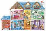 ORCHARD TOYS - podlahové puzzle DŮM (Domeček pro panenky)