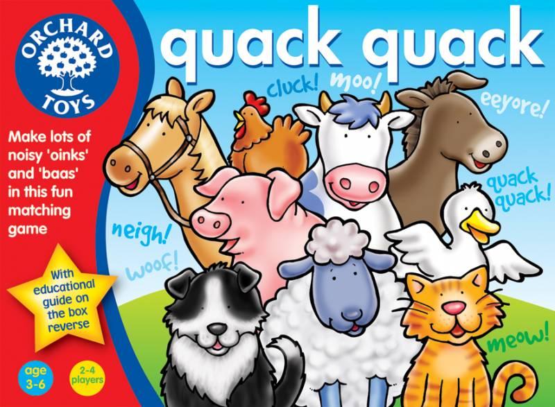 Orchard Toys - hra KVAK KVAK (Quack Quack)