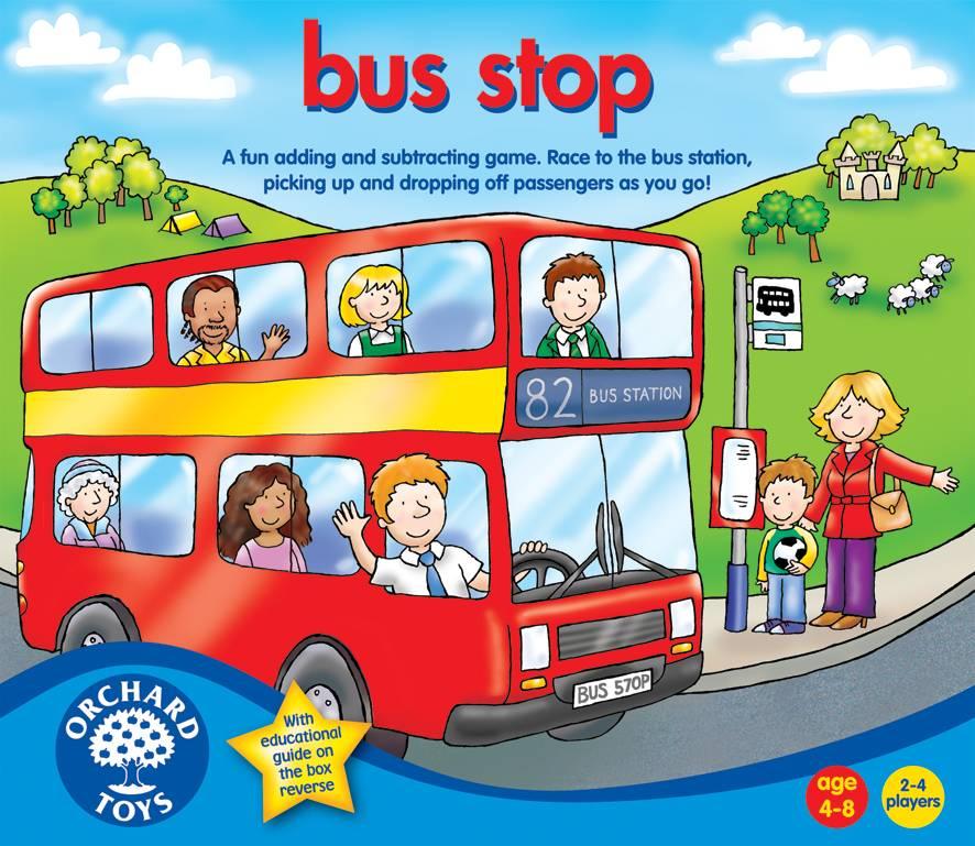 Orchard Toys - hra AUTOBUSOVÁ ZASTÁVKA (Bus Stop)
