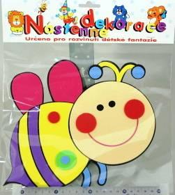 dětská dekorace velká - VČELKA