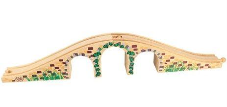 BigJigs - Most pro dřevěné vláčkodráhy, dřevěné vláčky