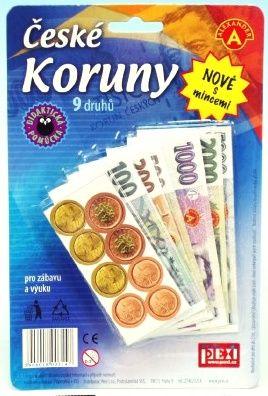 Dětské peníze - ČESKÉ KORUNY Alexander