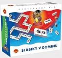 Didaktická hra - SLABIKY V DOMINU