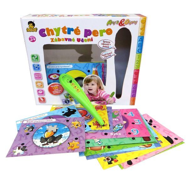 elektronická hra - CHYTRÉ PERO 1 (100 úkolů)