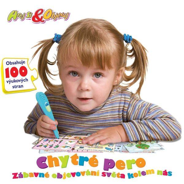 elektronická hra - CHYTRÉ PERO 2 (100 úkolů)