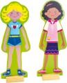 Magnetické oblékání - sada dvě holčičky