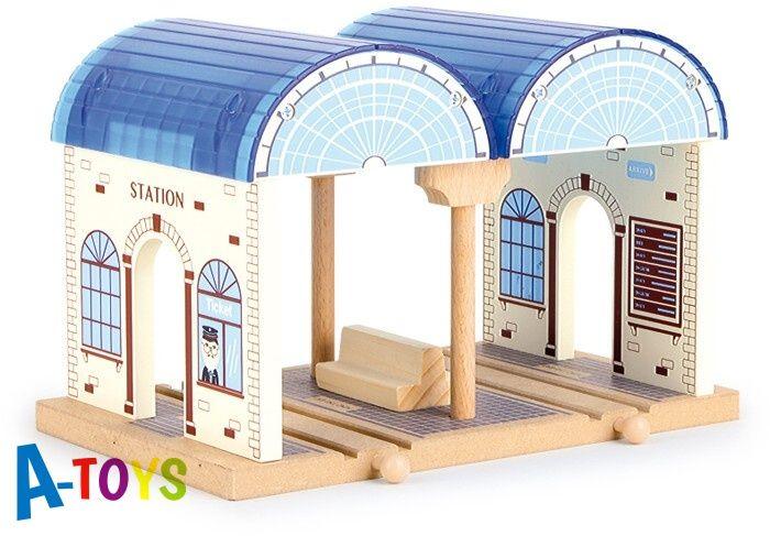 MAXIM Hlavní nádraží pro dřevěné vláčky