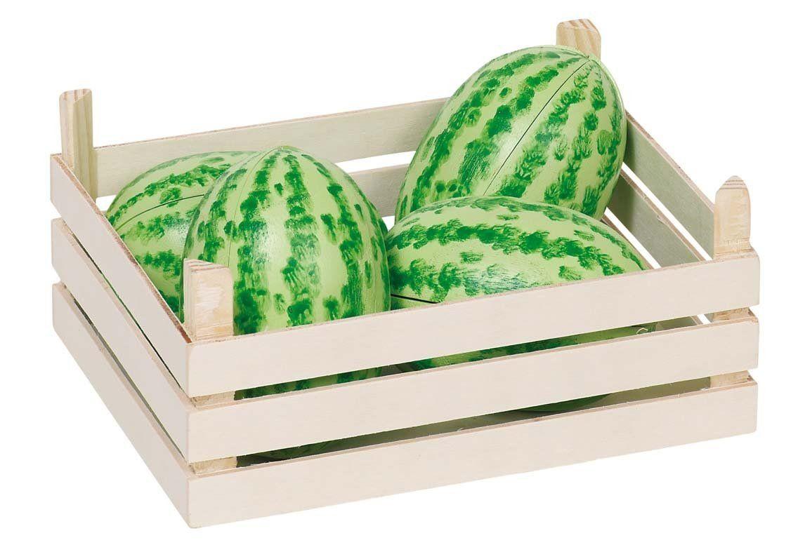 Meloun dřevěný - 1 ks (čtvrtka) GOKI