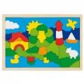 Netradiční dřevěné puzzle - Maják