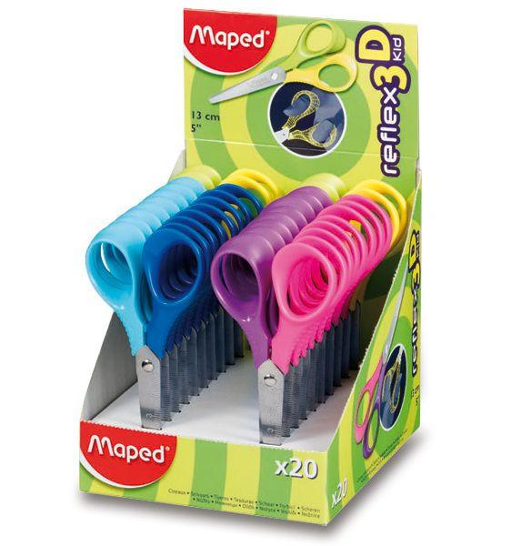 Školní nůžky Kid 13 cm - tři barvy Maped