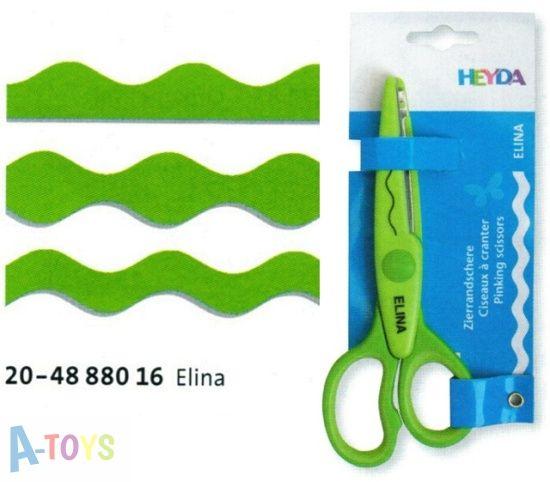 Tvarové nůžky - Elina VLNKY Heyda