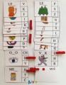výukové kartičky - NEÚPLNÁ SLOVA S KOLÍČKY 1