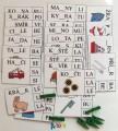 výukové kartičky - NEÚPLNÁ SLOVA S KOLÍČKY 4 (slabiky)