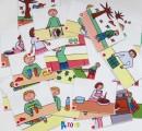 výukové kartičky - VYPRÁVĚJ PODLE OBRÁZKU
