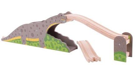 Dinosauří most - dřevěné vláčky BIGJIGS