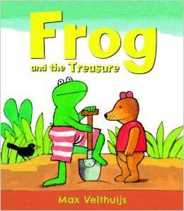 Frog and the Treasure - anglické knížky pro děti