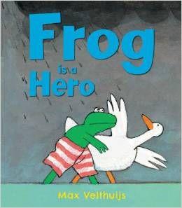 Frog is a Hero - knihy v angličtině pro děti