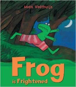 Frog is Frightened - knihy v angličtině pro děti