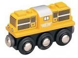 Lokomotiva dieselová - žlutá