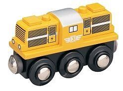 MAXIM Lokomotiva dieselová - žlutá