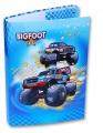 Pevné desky na učebnice a sešity - BIG FOOT auto