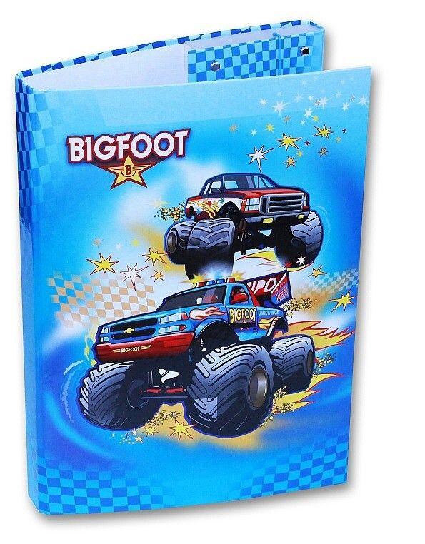 Pevné desky na učebnice a sešity - BIG FOOT auto Emipo