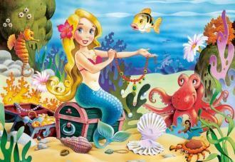 Puzzle 60 dílků - Mořská víla Castor