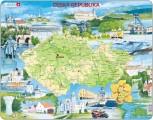 puzzle MAPA ČR