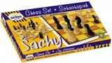 Šachy dřevěné Detoa