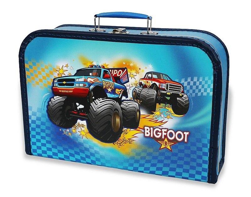 Dětský kufřík velký 35 cm - BIG FOOT auto