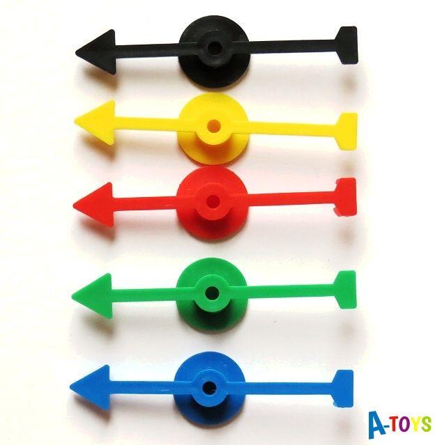 Spinner - otáčecí plastová šipka s podložkou