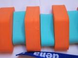 PLAVECKÝ PÁS 130 cm - oranžová-zelená