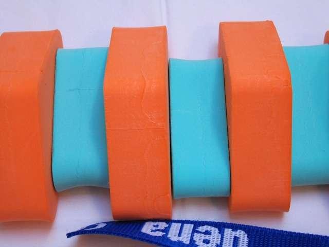 Dena PLAVECKÝ PÁS 130 cm - oranžová-zelená