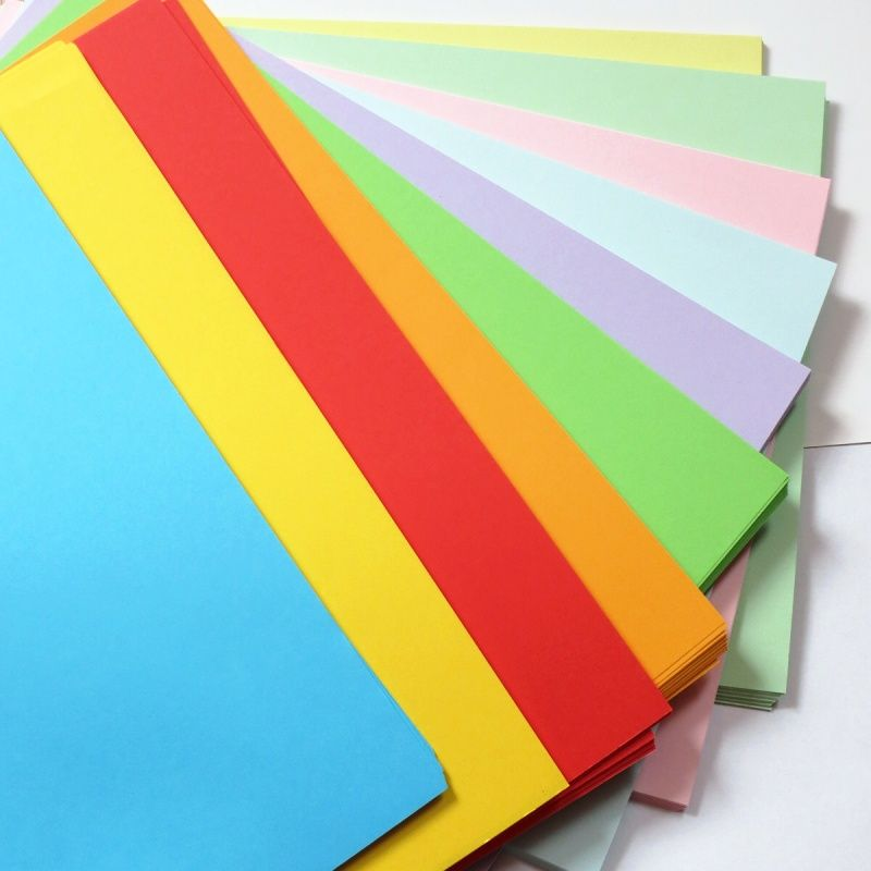 Barevné papíry A4 - sada 250 ks