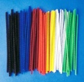 Chlupaté drátky krátké 100 ks - mix barev