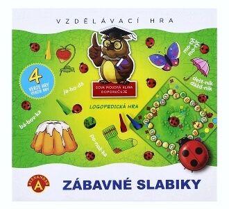 Didaktická hra - ZÁBAVNÉ SLABIKY Alexander
