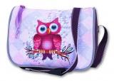 Dívčí jednoduchá kabelka - SOVA