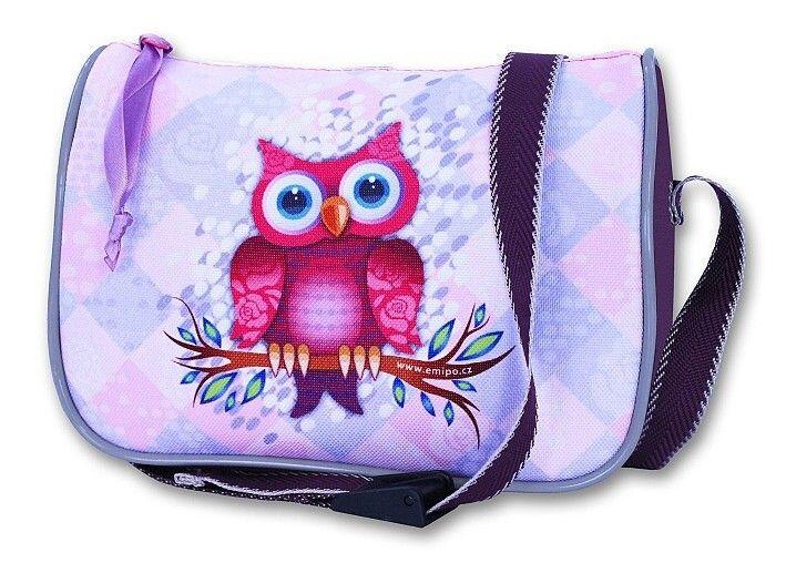 Dívčí jednoduchá kabelka - SOVA Emipo