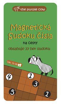 Magnetická hra i na cesty - SUDOKU čísla the Purple Cow