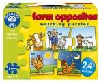 výukové puzzle - FARMA - PROTIKLADY