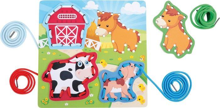 Provlékací zvířátka na desce - Farma, nebo Safari