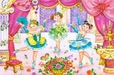 Puzzle 60 dílků - Malé baletky Castor